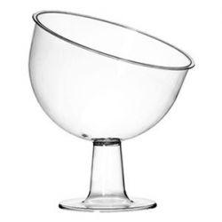 Taça Inclinada Grande Cristal