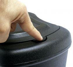 Lixeira Plástica Click 4L