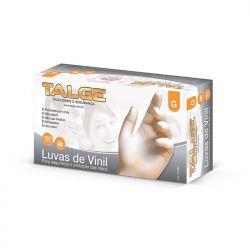 Luva de Vinil com Pó Tam. G Talge c/100